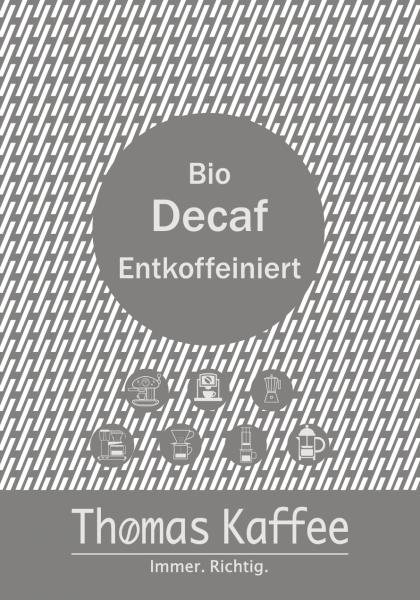 Entkoffeiniert Bio